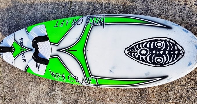 Reap what you sow – Witchcraft Reaper 102 windsurf board