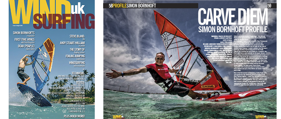 Windsurfing UK Magazine – Windsurfing kit tests, rider